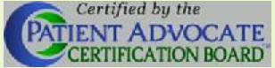 Patient Advocate Certification Board